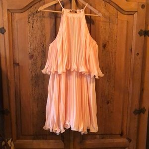 Beautiful light peach dress